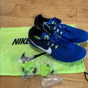 Brand new Nike cleats with bag